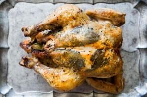 Курица по-домашнему (с травами) - фото шаг 5