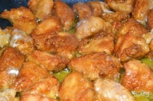 Куриное мясо в панировке - фото шаг 7