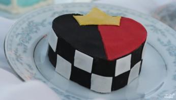Торт с короной - фото шаг 4