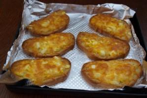 Бутерброды с сыром и чесноком - фото шаг 6