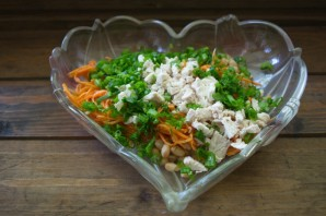 Салат куриный по-корейски - фото шаг 3