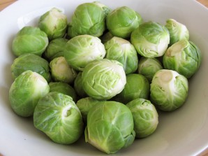 Каштаны с брюссельской капустой - фото шаг 2