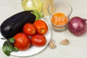 Вегетарианский суп-пюре из чечевицы - фото шаг 1