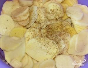 Картофельный гратен с сыром и сливками - фото шаг 2