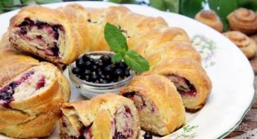 Пирог из варенья черной смородины - фото шаг 10