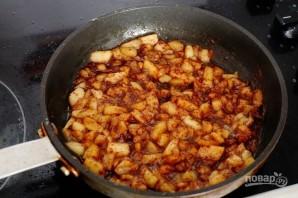 Французские тосты с яблоками - фото шаг 3