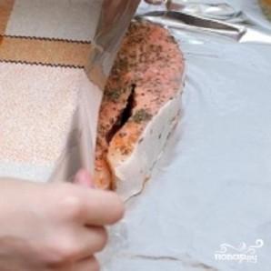 Запеченная семга в духовке - фото шаг 3