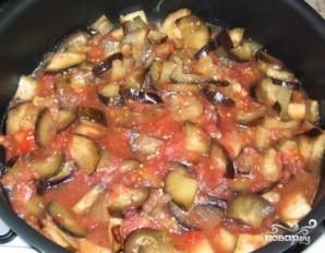 Тушеные баклажаны с помидорами - фото шаг 5