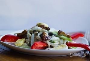 Салат из кальмаров вкусный - фото шаг 7