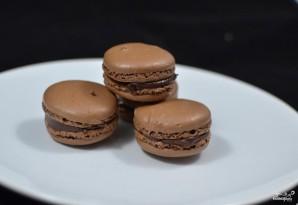 Шоколадные макаруны - фото шаг 8
