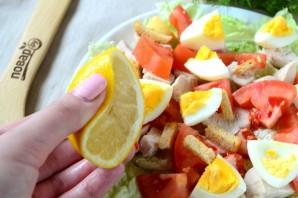 Салат из пекинской капусты с куриной грудкой - фото шаг 6