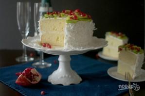 Кокосовый торт с ромом - фото шаг 6