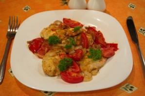 Грудка с помидорами - фото шаг 6