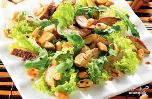 Салат с белыми грибами - фото шаг 6