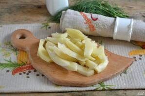 Вегетарианская запеканка из картофеля - фото шаг 2
