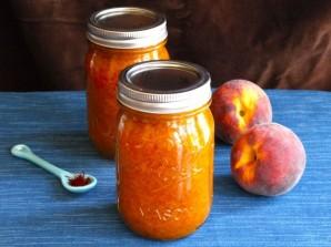 Варенье из персиков с сахаром - фото шаг 6