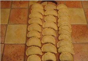 Вареники с кабачками - фото шаг 2