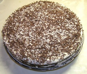 Торт из киселя - фото шаг 7