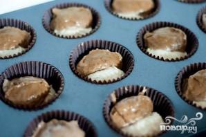 Банановые маффины с шоколадом - фото шаг 4