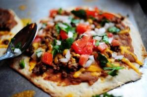 Мексиканская мини-пицца - фото шаг 4