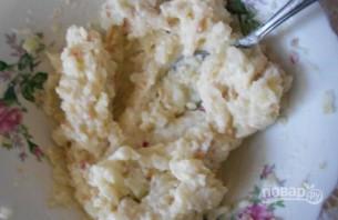 Пирог с яблоками и творожной начинкой - фото шаг 5