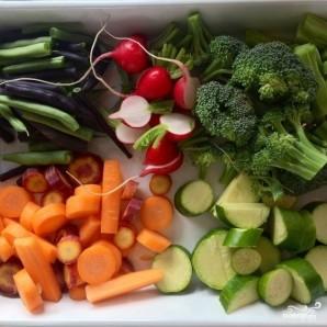 Тушеные овощи с лимоном, зеленью и сливочным маслом - фото шаг 2