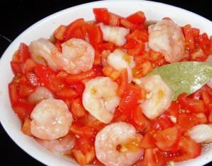Креветки в томатно-чесночном соусе - фото шаг 3