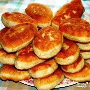 Пирожки с вишней - фото шаг 9