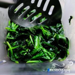 Суп из шпината с сыром - фото шаг 5