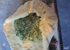 Пирог с адыгейским сыром - фото шаг 4