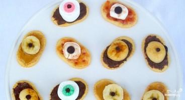 Сладкие глаза на Хэллоуин - фото шаг 5