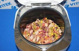 Мясо по-мексикански в мультиварке - фото шаг 4