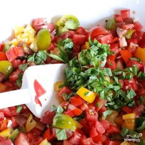 Паста со свежими овощами - фото шаг 4