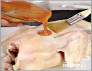 Утка хрустящая с сыром - фото шаг 4