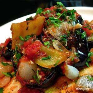 Баклажаны с раздельно обжаренными овощами - фото шаг 13