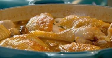 Фрикасе из цыпленка - фото шаг 2