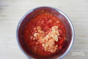 Салат с баклажанами (заготовки на зиму) - фото шаг 4