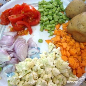 Овощная Курма - фото шаг 1
