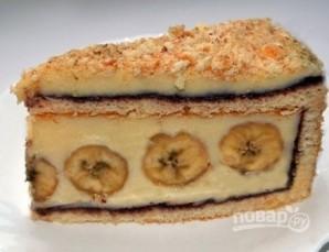 Банановый торт из готовых коржей - фото шаг 9