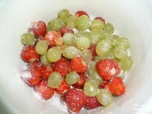 Открытый торт с фруктами - фото шаг 2