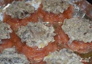 Куриные медальоны в духовке - фото шаг 6