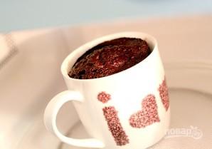 Кекс в чашке в микроволновке  - фото шаг 5