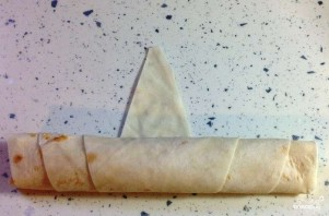 Сигары из лаваша - фото шаг 4