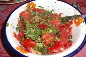 Рыба, запеченная с овощами - фото шаг 3