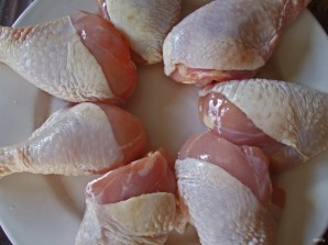 Куриные голени в соевом соусе - фото шаг 1