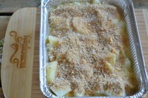 Картофель под белым соусом - фото шаг 6