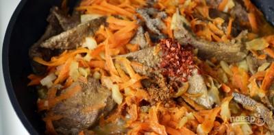 Паштет из печени с морковью и луком - фото шаг 3