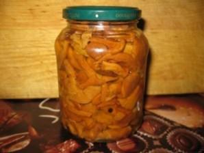 Маринованные лисички с яблочным уксусом - фото шаг 4