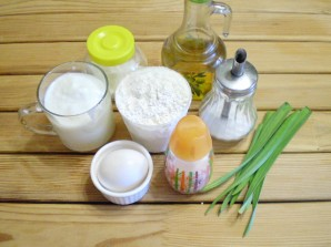 Лепешка с маслом - фото шаг 1