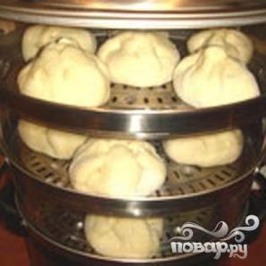 Пян-се (паровые пирожки) - фото шаг 4